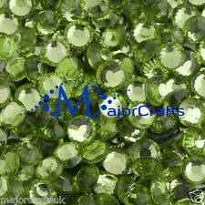 70 un. 6mm ss30 Peridoto Verde Piso Nuevo DMC Hotfix Pedrería De Cristal De A + C17