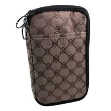 Medport Insulated Diabetes Travel Organizer (Damier) + 3oz Cold Pack for Cooling