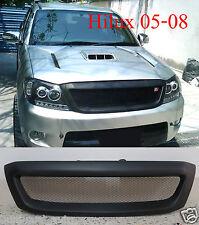 Front Grill Grille Black Net for Toyota Hilux Pickup Kun Sr5 Mk6 Vigo 2005-2008