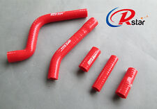 Silicone Radiator Hose For YAMAHA YZF250 YZ250F 2010-2013 10 11 12 13 Red