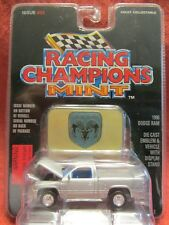 Racing Champions Mint   1996 Dodge Ram  #33 Silver  1:61 scale  NOC (5)
