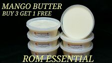 RAW MANGO BUTTER 100% PURE ORGANIC 8oz CONTAINER BUY 3 GET 1FREE