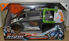 HASBRO ACTION MAN ATOM SLAMMA CAR WITH SOUND EFFECTS AND FIRING MISSILE NEW BOX