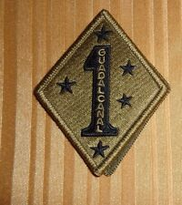 ARMY PATCH, 1ST MARINE DIVISION  ,MULTI-CAM,SCORPION, WITH VELCRO