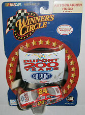 Jeff Gordon #24 Winner's Circle 2002 DuPont 200 Years Hood 1:64 Diecast Car