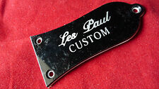 Genuine E-Logo LP Custom Guitar Truss Rod Cover Black TRCC