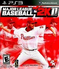 PS3 Major League Baseball MLB 2K11 2011 Halladay NEW Sealed REGION FREE English