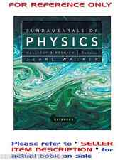Fundamentals of Physics 9e Extended by Halliday, Walker, Resnick 9th Edition