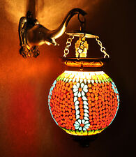 Multicolour Turkish Moroccan Style Mosaic Wall Sconce Light Wall Pendant Lamp