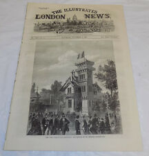 11/2/1867 Issue ILLUSTRATED LONDON NEWS//Paris Expo/Stoves & Lamps/Mail in India