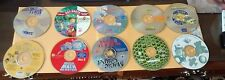Computer Software Programs Lot Bundle of 10 CD Rom Disc Collection