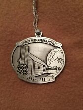 Pewter Canada Schoenbrunn Village Ohio Ornament Howe House Limited Edition