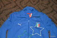 Puma Women's Team Italia jacket -Size Medium - MSRP 70.00