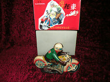 Motorcycle Tin Toy NEW  MS702 bVintage Mint From Red China