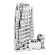 Rockefeller Plaza 3D-Metall-Bausatz Silver-Edition Metal Earth 1061