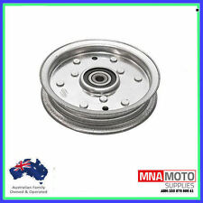 FLAT IDLER PULLEY FOR SELECTED MTD & CUB CADET RIDE ON MOWERS  756-04129