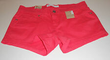 Nwt Womens Levis Pink Stretch Twill Short Shorts 13/31 13