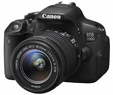 Canon EOS 700D / T5i DSLR Camera with EF-S 18-55mm f/3.5-5.6 IS STM Lens