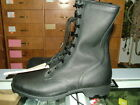 US MILITARY LEATHER BLACK COMBAT BOOTS SPEEDLACE VARIOUS SIZES NEW