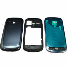 Full Housing Blue Middle Frame Battery Cover For Samsung Galaxy i8190 S3 Mini