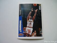 Stickers UPPER DECK Collector's choice 1996 - 1997 NBA Basketball N°55