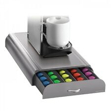 Mind Reader 'Anchor' Drawer nespresso coffee pod 50 capsule holder, Silver/Grey