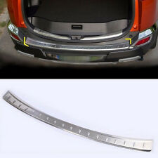 For Toyota RAV4 2013-2015 Stainless Steel Rear Bumper Door Sill Plate Scuff 1pcs