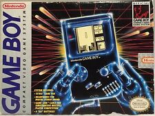 ORIGINAL NINTENDO GAME BOY SYSTEM IN BOX TETRIS BO JACKSON WITH ACESSORIES