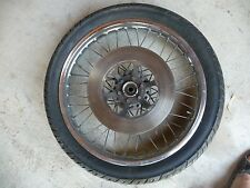 Front wheel tire rotor GS750 suzuki 76 77  78 #I11