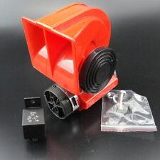 12V Car Snail Compact Dual Tone Electric Pump Siren Loud Air Horn US Free Ship