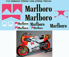 1/12 YAMAHA YZR500 1988 (OW98) FOR HASEGAWA DECALS TB DECAL TBD164