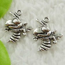 Free Ship 360 pieces tibet silver hornet charms 20x17mm #1600