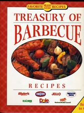 Treasury of Barbecue - Favorite Brand Name Recipes (3 Books in One) - Spiral HB
