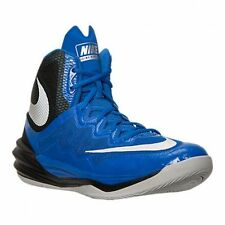 Nike Prime Hype DF II Basketball Shoes Mens  Sz 12  Blue Black Silver 806941 401