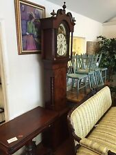 Newcastle Under Lyme Brown Antique Grandfather Clock