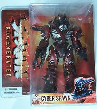 McFarlane's CYBER SPAWN REGENERATED Robot Comic ACTION FIGURE Mint SERIES 28