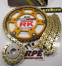 2014-2017 Yamaha FZ-09 RK GXW Gold 525 SuperSprox QA Chain and Sprocket Kit