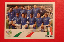 PANINI FIFA WORLD CUP GERMANY 2006 06 n. 321 ITALIA SQUADRA  MINT!!!