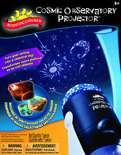 COSMIC OBSERVATORY PROJECTOR KIDS CEILING PROJECTION SCIENTIFIC EXPLORER KIT