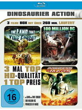 3 Filme Blu-ray - The Land that time forgot & Princess of Mars & 100 Million BC