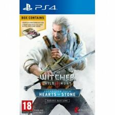 The witcher 3 wild hunt hearts of stone limited edition avec gwent cartes PS4 gam