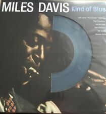 MILES DAVIS 'KIND OF BLUE LP' REPRESSED REISSUE ON COLOURED VINYL - NEW / SEALED