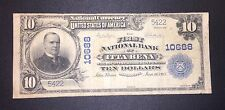 1902 $10 First National Bank Itta Bena Mississippi Ch# 10688