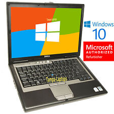 DELL LATITUDE LAPTOP COMPUTER CORE DUO 2 GB WiFi DVD Windows 10 NOTEBOOK PC HD