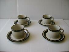 "NEW ARABIA Finland ""KARELIA"" CUPS & SAUCERS SET OF 4  Discontinued"