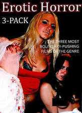 Erotic Horror 3-Pack (DVD, 2014)