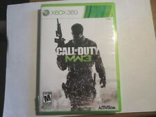 Call of Duty: Modern Warfare 3 (Xbox 360, 2011) GAME DISC & CASE BUT NO MANUAL