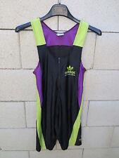 Combinaison running ADIDAS TORSION vintage sprint course Trefoil noir 174 M