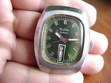 Rare Soviet Russian Mechanical  Watch Slava Cali 2428  Made in USSR