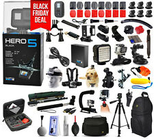 GoPro HERO5 Hero 5 HD Black Edition Action Camera + Mega Accessories Bundle